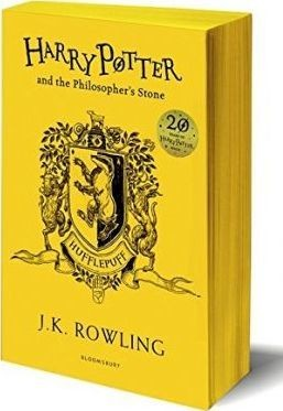 Obal knihy Harry Potter and the Philosopher's Stone 20 TH Hufflepuff anniversary edition