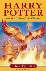 Obal knihy Harry Potter and the Order of the Phoenix EN