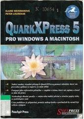 QuarkXPress 5 pro Windows a Macintosh CZ