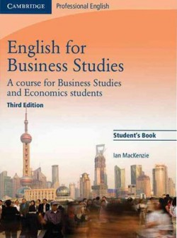 Obal knihy English for Business Studies - Student's Book EN