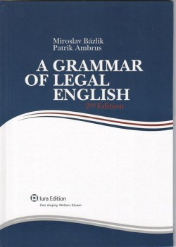 Obal knihy A Grammar of Legal English
