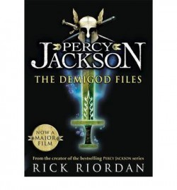 Obal knihy Percy Jackson: The Demigod Files EN