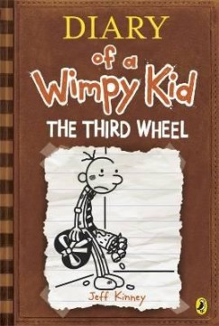 Obal knihy Diary of a Wimpy Kid: The Third Wheel EN