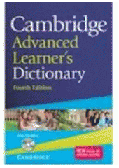 Obal knihy Cambridge Advanced Learner's Dictionary EN