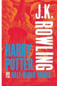 Obal knihy Harry Potter and the Half-Blood Prince EN