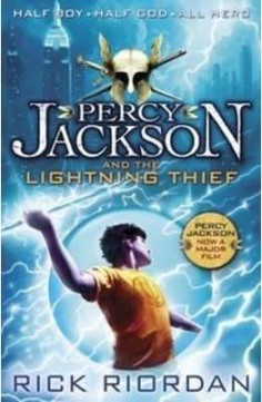Obal knihy Percy Jackson and the Lightning Thief EN