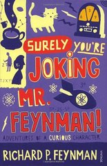 Obal knihy Surely You're Joking Mr. Feynman! EN