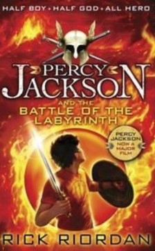 Obal knihy Percy Jackson and the Battle of the Labyrinth EN