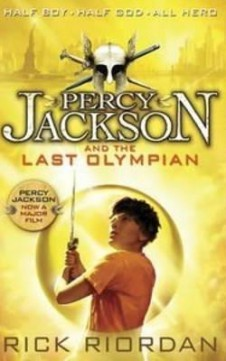 Obal knihy Percy Jackson and the Last Olympian EN