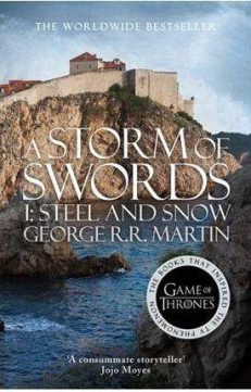 Obal knihy A Storm of Swords (Part 1): Steel and Snow EN