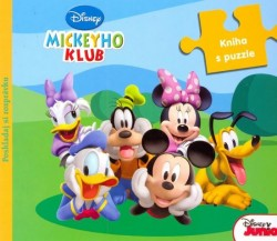 Obal knihy Mickeyho klub: Kniha s puzzle