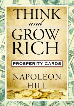 Obal knihy Think and Grow Rich Prosperity Cards EN