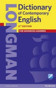 Obal knihy Longman Dictionary of Contemporary English EN