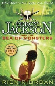Obal knihy Percy Jackson and the Sea of Monsters EN