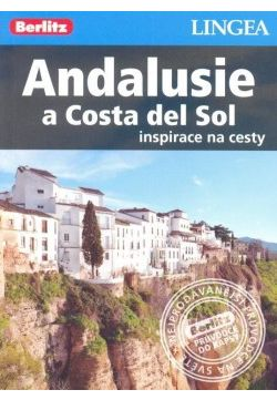 Obal knihy Andalusie a Costa del Sol CZ