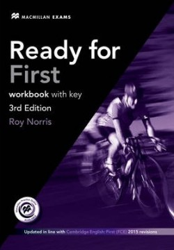 Obal knihy Ready for First: Workbook with Key EN
