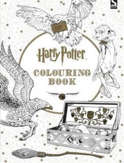 Obal knihy Harry Potter Coloring Book 1 EN