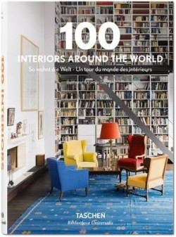 Obal knihy 100 Interiors Around the World EN