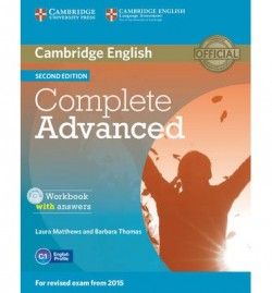 Obal knihy Complete Advanced - Workbook with answers EN