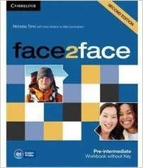 Obal knihy Face2Face: Pre-intermediate - Workbook without Key EN
