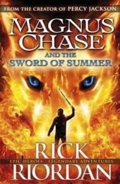 Obal knihy Magnus Chase and the Sword of Summer EN