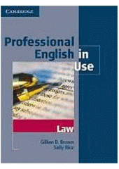 Obal knihy Professional English in Use Law EN