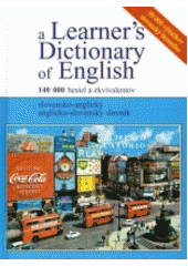 Obal knihy A Learner´s Dictionary of English