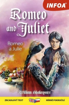 Obal knihy Romeo and Juliet / Romeo a Julie CZ