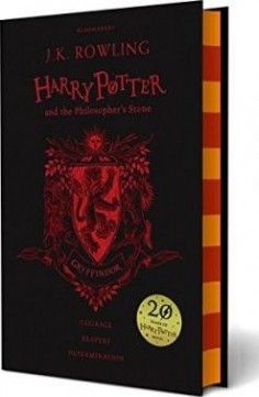 Obal knihy Harry Potter and the Philosopher's Stone EN