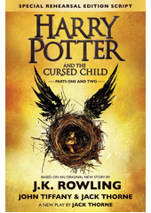 Obal knihy Harry Potter and the Cursed Child (Parts I & II) EN
