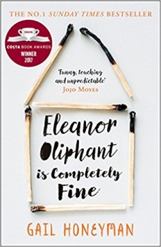 Obal knihy Eleanor Oliphant is Completely Fine