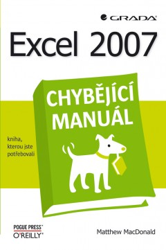 Obal knihy Excel 2007 CZ