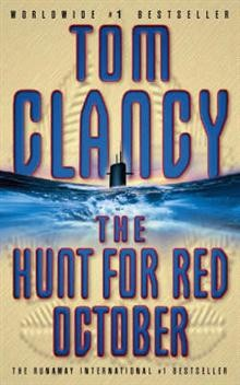 Obal knihy The Hunt for Red October EN