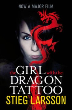 Obal knihy The Girl with the Dragon Tattoo EN