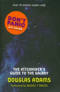 Obal knihy The Hitchhiker's Guide to the Galaxy EN