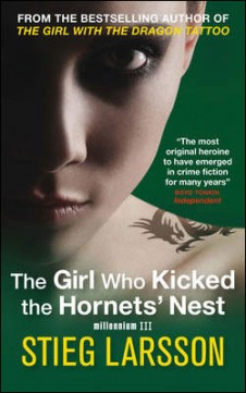 Obal knihy The Girl Who Kicked the Hornets' Nest EN
